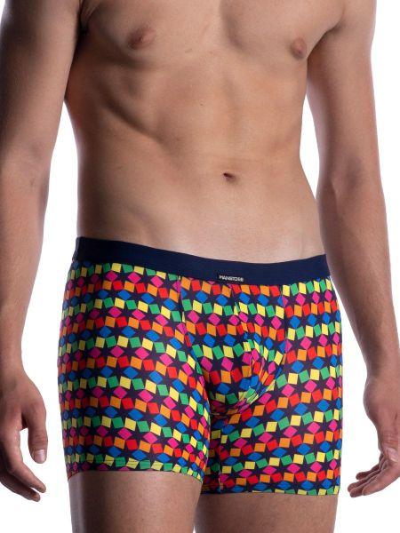 MANSTORE M2056: Hip Boxer, rainbow202