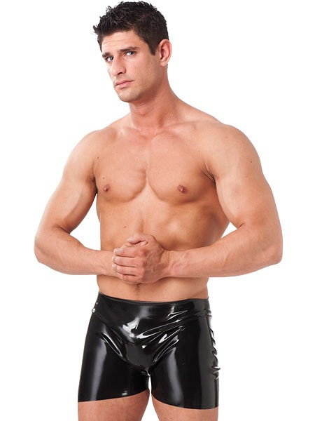 Latex-Short, schwarz