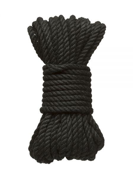 Kink Bind & Tie Bondage Rope: Bondageseil (9 m), schwarz