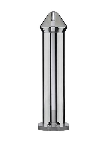 ElectraStim Rocket: Strap-On Elektro-Dildo, silber/schwarz