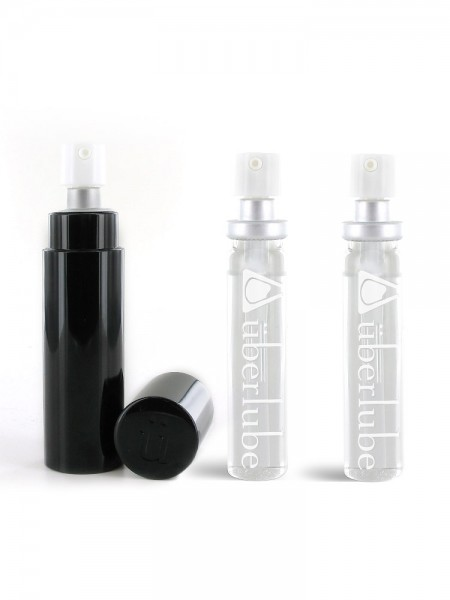Gleitgel: Überlube Good-to-Go Black (15ml) + Refills