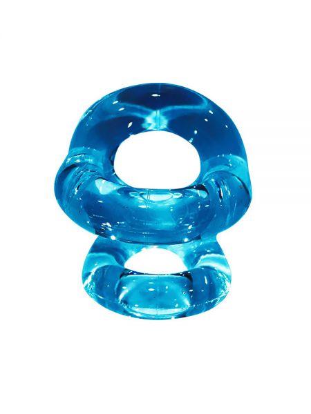Sport Fucker Fucker Ring: Penis-/Hodenring, ice blue