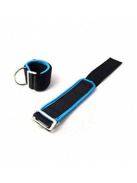 Neoprene Universal Restraints: Fesseln, schwarz/blau