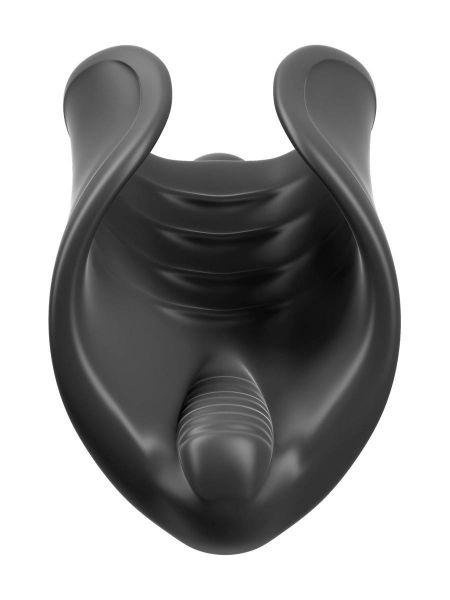 PDX Elite Vibrating Silicone Stimulator: Masturbator, schwarz