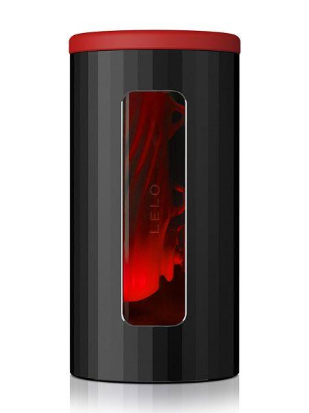 Lelo F1S V2: Interaktiver Masturbator, schwarz/rot
