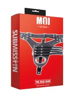 MOI Submission The Mad Man Body Harness, schwarz