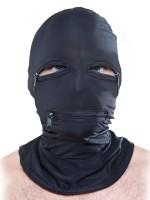 Fetish Fantasy: Kopfmaske mit Reißverschlüssen