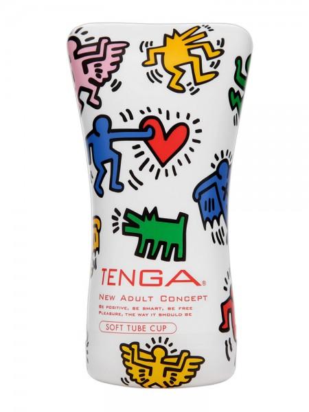 Tenga Soft Tube Cup Keith Haring: Masturbator