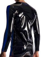 MANSTORE M954: Zipped Longsleeve, schwarz