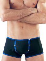 Pants mit Push-up-Effekt, schwarz/blau