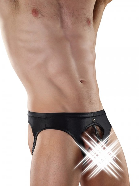 Male Power Extreme: Double Ring Jock, schwarz