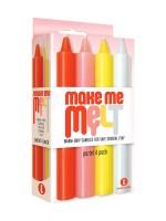 Make Me Melt Sensual Candles: SM-Kerzen-Set, pastell