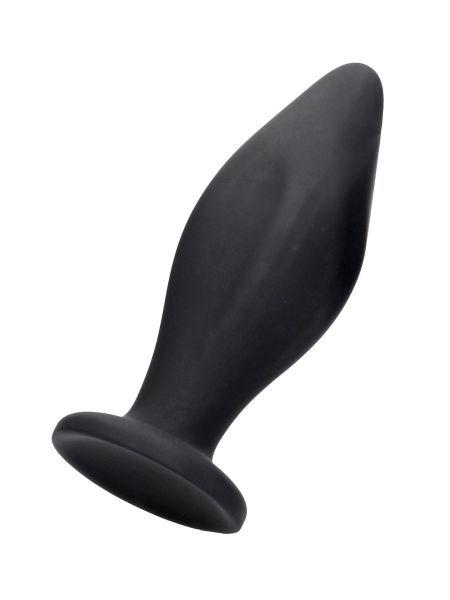 Ouch! Edgy Butt Plug: Analplug, schwarz