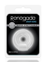 Renegade Drop Ring: Penisring, transparent