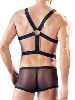 Harness-Netzpant, schwarz