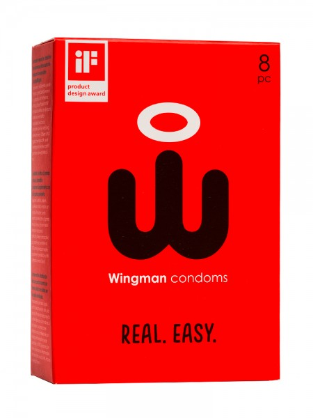 Wingman Kondome, 8er Pack
