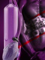 Mr. Cock Classic: Penispumpe, lila