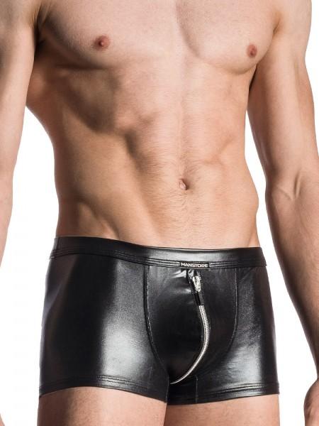 MANSTORE M107: Zipped Pant, schwarz