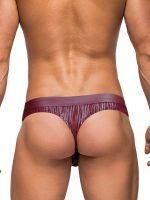 Male Power Dazzle: Insert String, burgundy