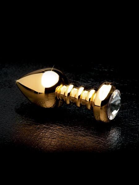 Fetish Fantasy Gold Luv Plug: Analplug, gold