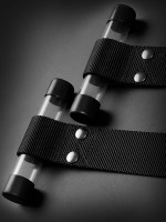 Sir Richards Command Bondage Door Cuffs: Handfesseln, schwarz