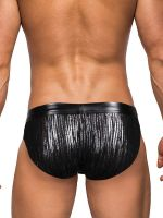 Male Power Dazzle: Insert Bikini Brief, schwarz