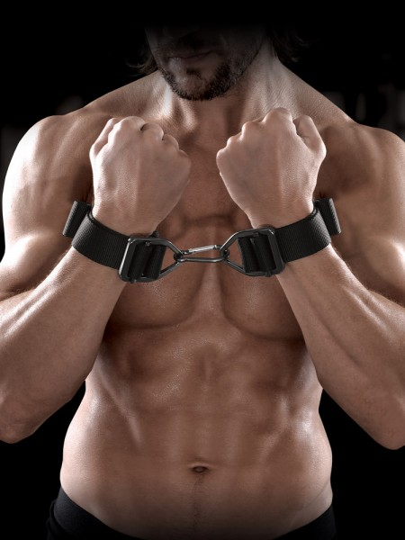 Sir Richards Command Heavy Duty Cuffs: Handfesseln, schwarz