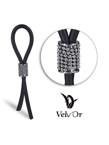 Velv'Or JBOA 302: Penisschlaufe, schwarz