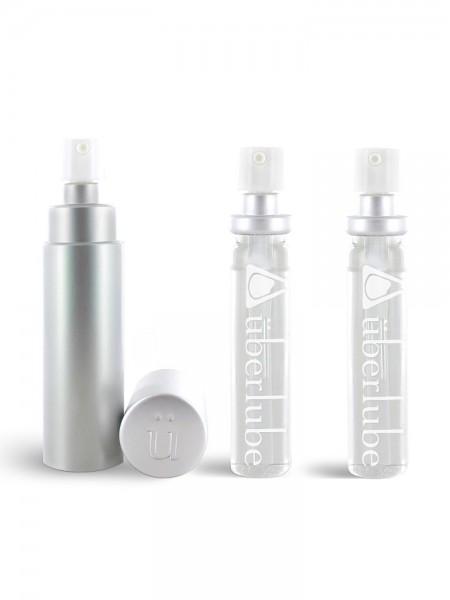 Gleitgel: Überlube Good-to-Go Silver (15ml) + Refills