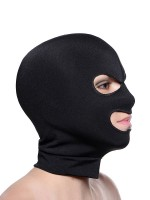 Master Series Facade Hood with Eye and Mouth Hole: Maske, schwarz