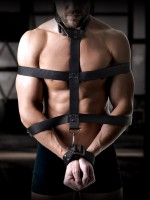 Sir Richards Command Body Binder: Fesselset, schwarz