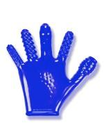 Finger Fuck: Penetrationshandschuh, blau