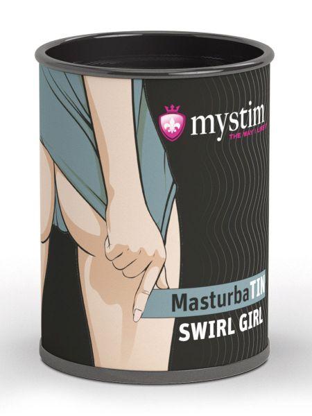Mystim Swirl Girl: Masturbator, weiß