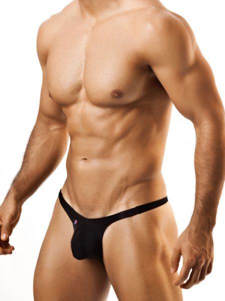 Joe Snyder Bulge01: Bikini Brief, schwarz