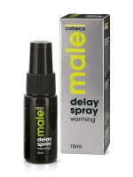 MALE Delay Spray Warming: Verzögerungsspray (15ml)