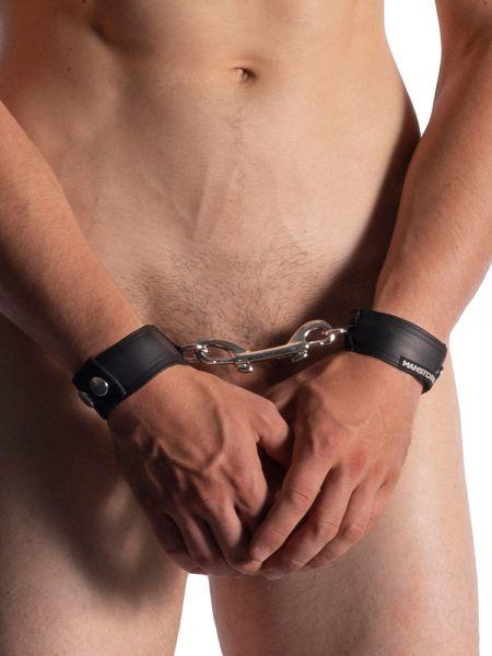 MANSTORE M510: Hand/Leg Cuffs, schwarz
