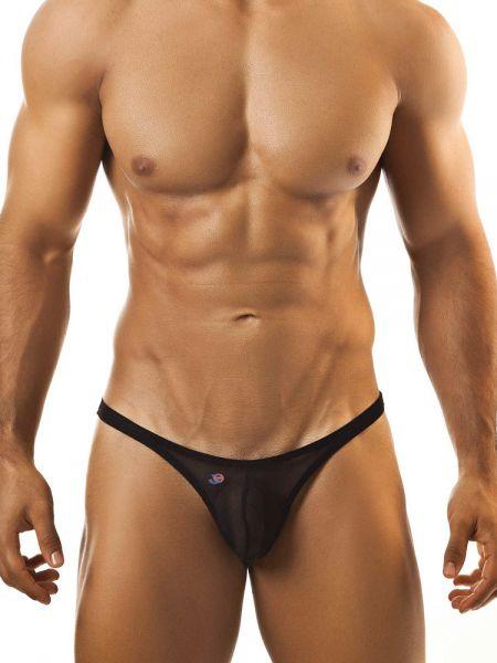 Joe Snyder Bulge01: Bikini Netz-Brief, schwarz