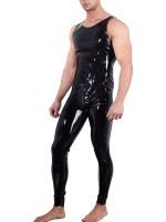 Latex-Overall, schwarz