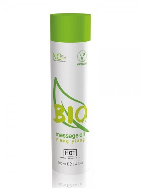 HOT Bio Massageöl Ylang Ylang vegan (100ml)