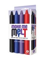 Make Me Melt Sensual Candles: SM-Kerzen-Set, bunt