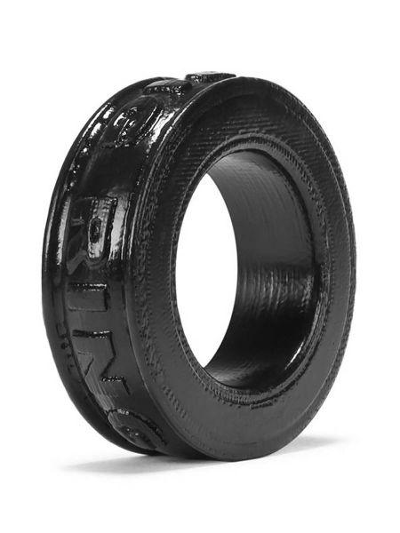 Oxballs Pig-Ring: Penis- und Hodenring, schwarz