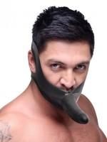 Master Series Face Fuk On Mouth Gag: Strap On, schwarz