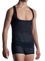 MANSTORE M2051: Workout Shirt, schwarz