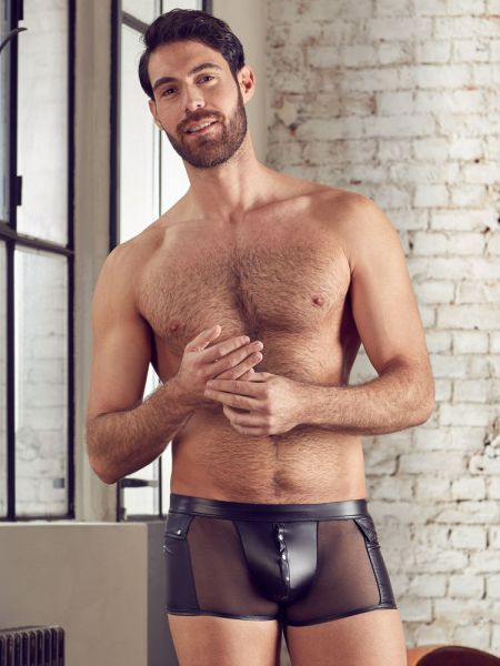 NEK Minipant mit Nieten, schwarz