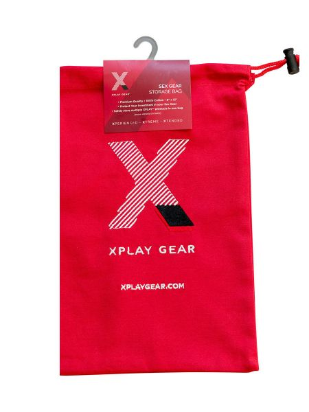 Xplay Gear Storage Bag: Lovetoy-Aufbewahrungsbeutel, rot