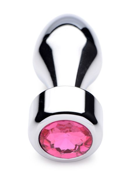 Booty Sparks Weighted Base Pink Gem: Aluminium-Plug, pink