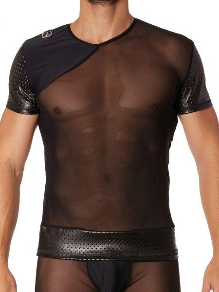 Look Me Famous: T-Shirt, schwarz