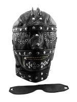 XxdreamSToys: Leder-Kopfmaske Heavy, schwarz