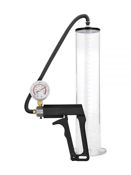 "Pumped Ultra Premium Pump 12"" Wide: Penispumpe, transparent"