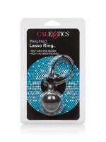 Weighted Lasso Ring: Penisschlaufe mit Gewicht, schwarz